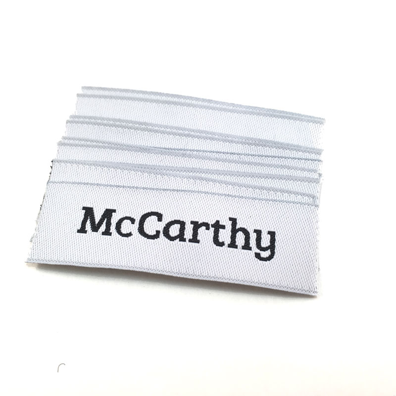 Woven Labels - Name - McCarthy