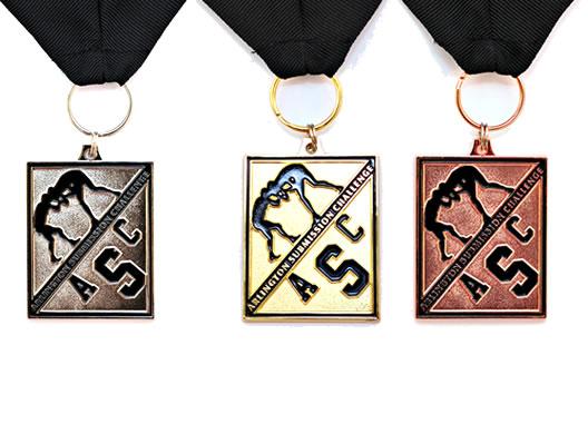 wrestling medallions