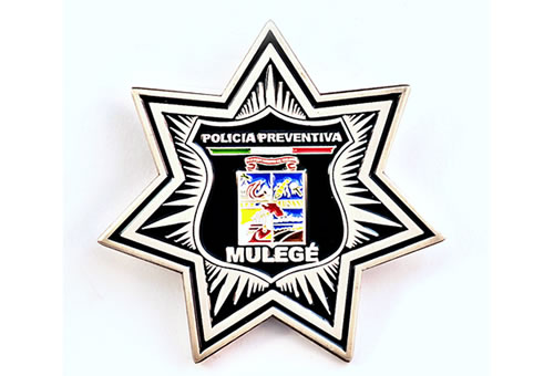 police mini badge