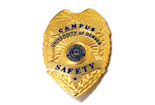campus safety police badge