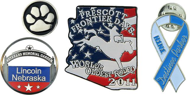 custom promotional iron pins