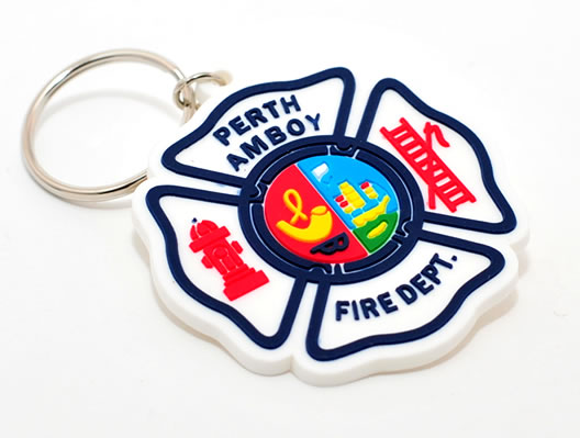 fire department keychain