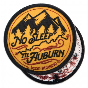 custom iron on embroidered patches