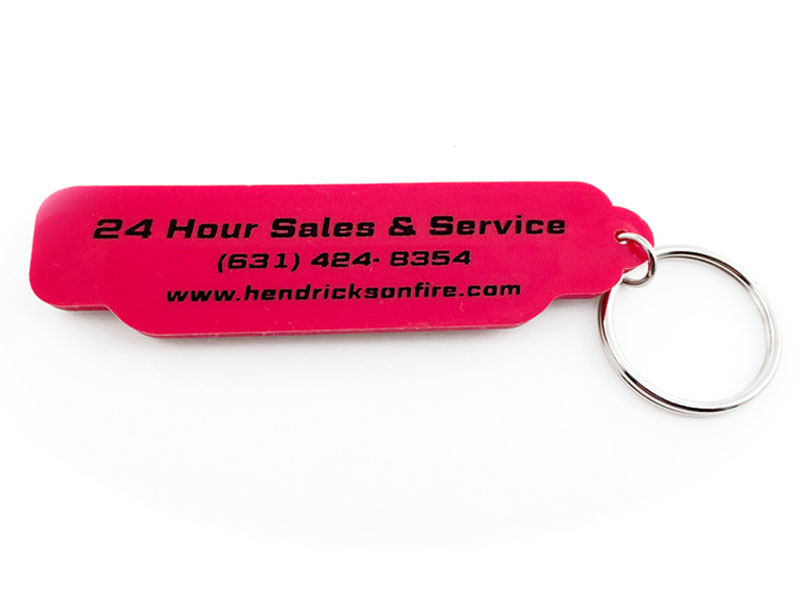 PVC Keychain for a Fire Rescue Equipment Manufacturer