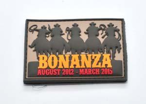 Bonanza 3d pvc Velcro Patch