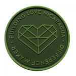 volunteer-logo pvc-patch