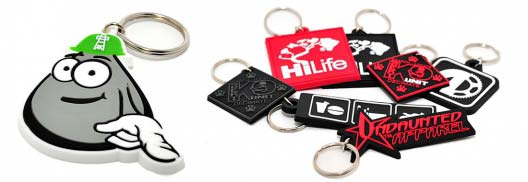 custom pvc keychains - wholesale