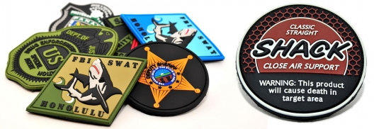 wholesale custom pvc patches