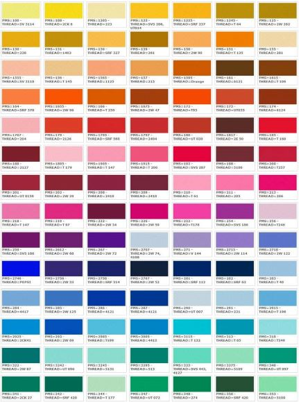Thread colors for clothing tags wholesale 1/2